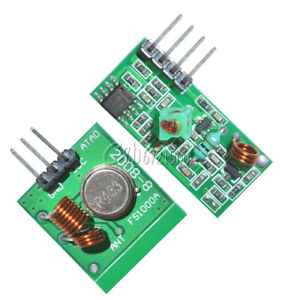 433Mhz RF transmitter and receiver link kit for Arduino/ARM/MC