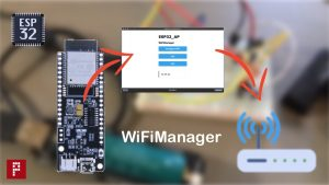 esp32 wifimanager library test