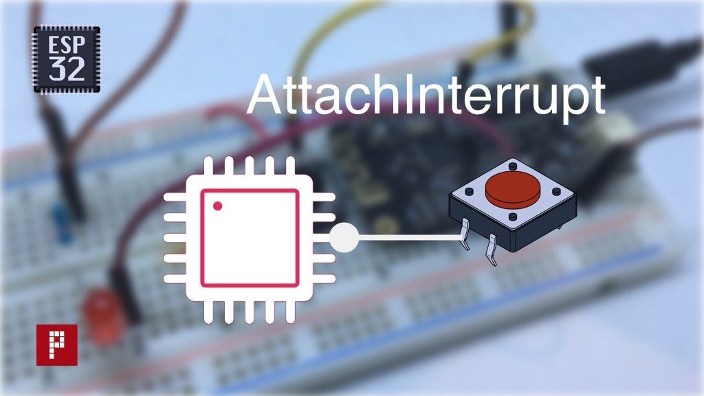 Learn to use the external interrupts of theESP32with Arduino code. Compatible GPIO pins, move function to RAM with IRAM