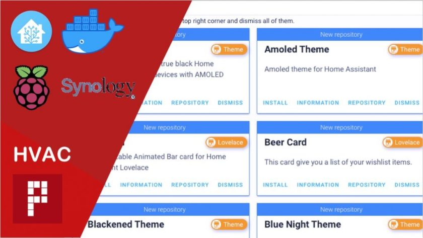 HACS home assistant easy install theme component