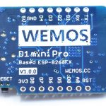 wemos d1 mini pro new top side