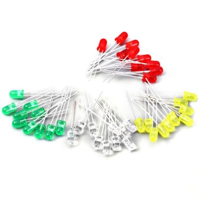 100PCS 5mm Dip LED Diode