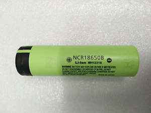 1x New Genuine Original Panasonic NCR18650B 3.7V 3400mAH Battery Made in Japan