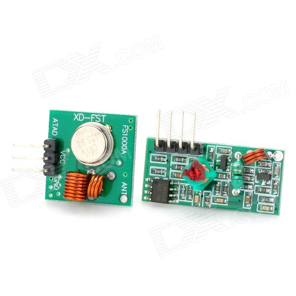 433Mhz RF Transmitter + Receiver Module Kit for Arduino / ARM /MCU WL
