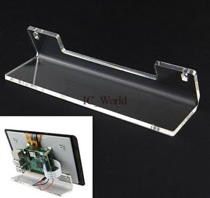 Acrylic Stand Bracket Frame for Raspberry Pi Offcial 7 inch Touch Screen Monitor