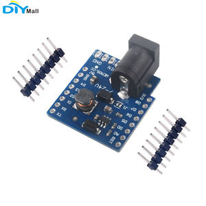 DC Power Shield Module V1.1.0 for WEMOS D1 mini Lite / D1 mini Pro/mini V2.0.0