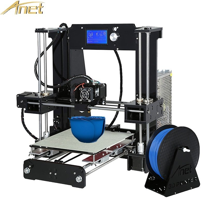 Hot Anet A6 impresora 3d Printer Auto Level A8/Normal A8 High-precision Reprap i3 3D printer Kit DIY With Free Filament