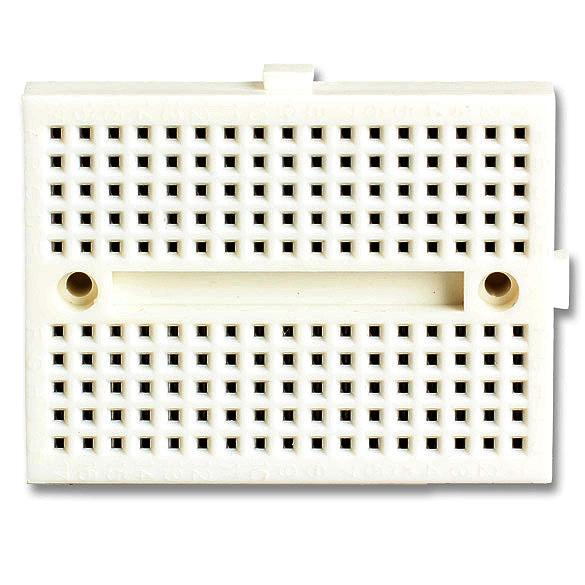 Mini Nickel Plating Breadboard 170 Tie-points for Arduino Shield White