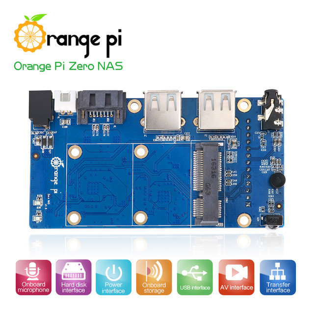 Orange Pi NAS Expansion board Interface board Development board beyond Raspberry Pi