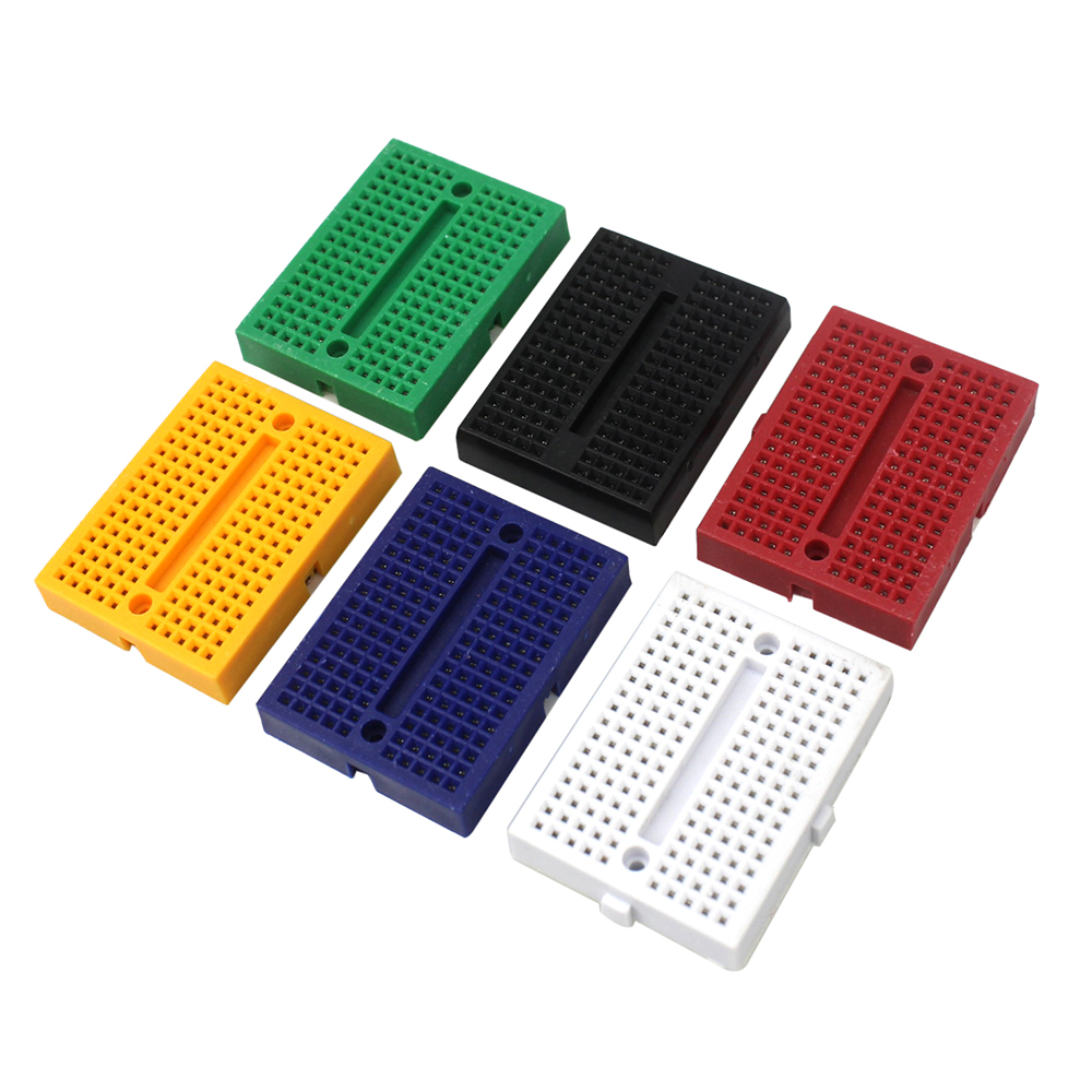 5PCS/LOT SYB-170 Mini Solderless Prototype Breadboard 170 Tie-points for arduino Compatible with UNO MEGA 2560