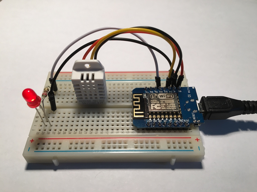 ESP8266 + DHT22 + MQTT: make a connected object IoT and