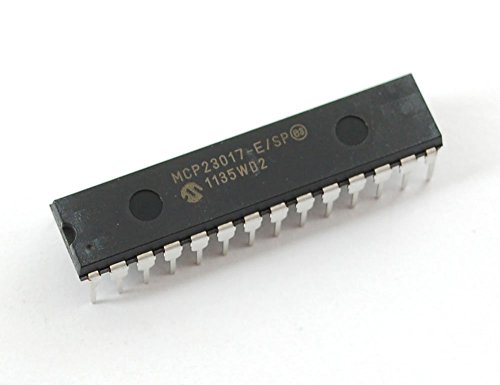 5 pcs - MCP23017 - i2c 16 input/output port expander