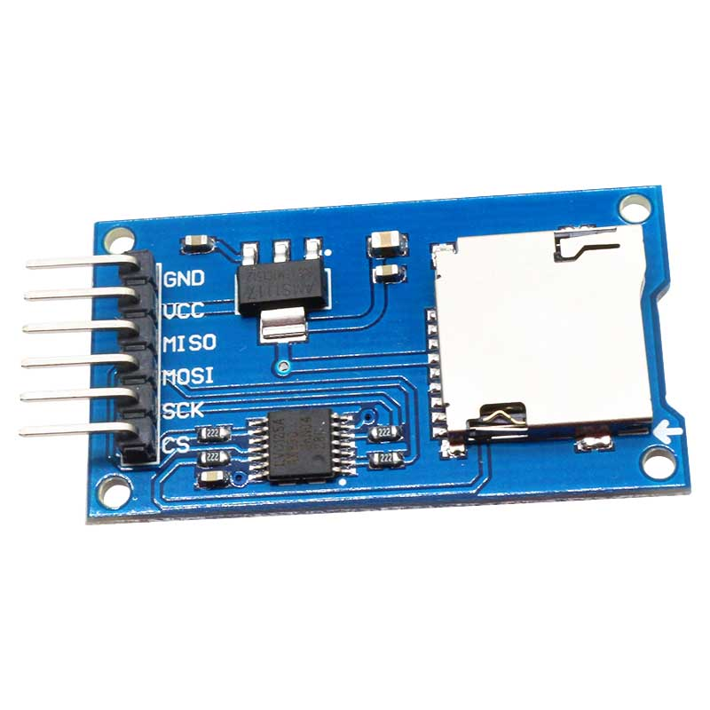 Deal micro sd card reader module for arduino esp