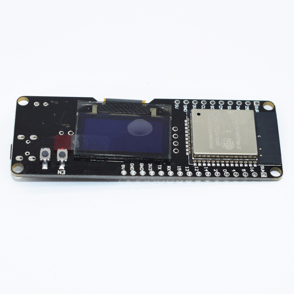 "1 Set ESP-WROOM-32 ESP32 0.96"" OLED WIFI-BT Dual-mode 2.4GHz For Wemos D1 ESP-32 ESP-32S AP STA OLED"