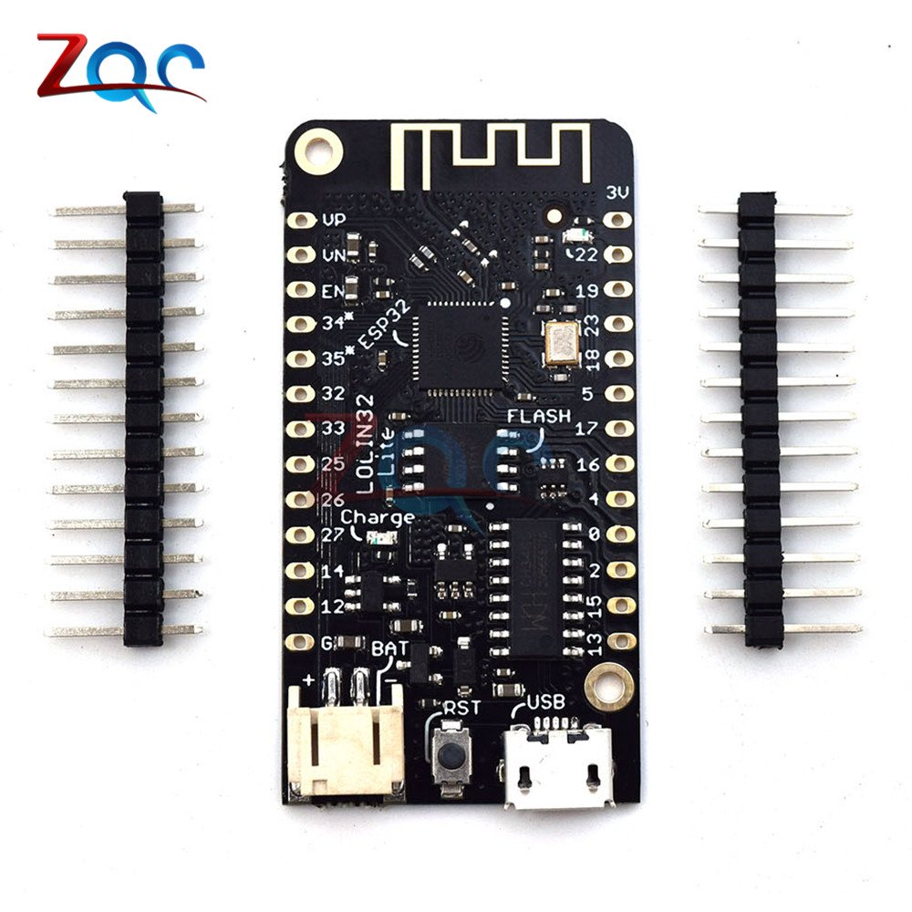WEMOS LOLIN32 Lite V1.0.0 Wifi Bluetooth Development Board Antenna ESP-32 ESP32 CH340 CH340G Rev1 MicroPython 4MB Micro USB