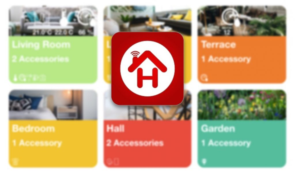 Homy, iOS / Android home automation application to control a server