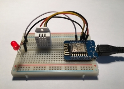 ESP8266 + DHT22 + MQTT: make a connected object IoT and include it